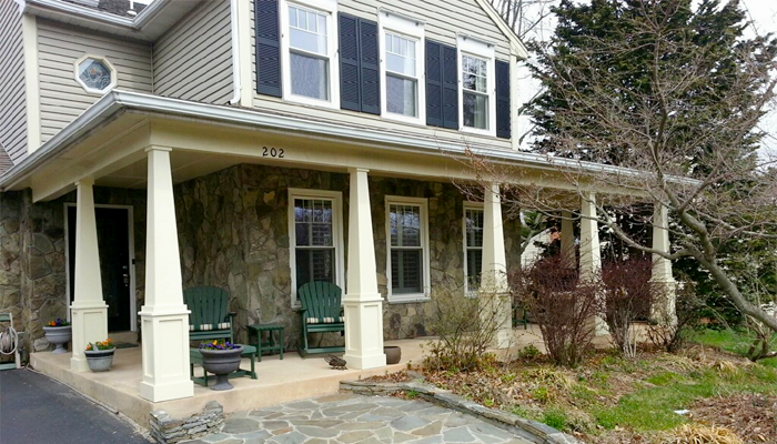 Porch Renovation Sterling VA by Reston Painting and Contracting